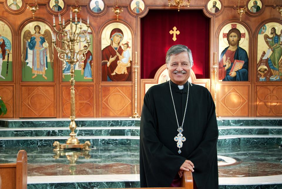 Fr John Greek Orthodox Church